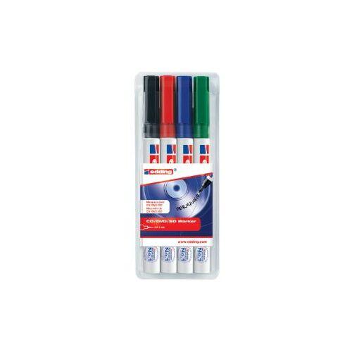 Edding Cd Marker Edding 8400 Rond Assorti 0.5-1.0mm Etui à 4st