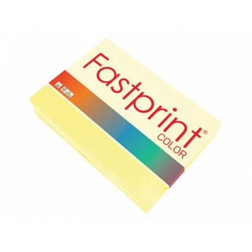 Fastprint Kopieerpapier Fastprint A4 160 Gram Geel 250vel