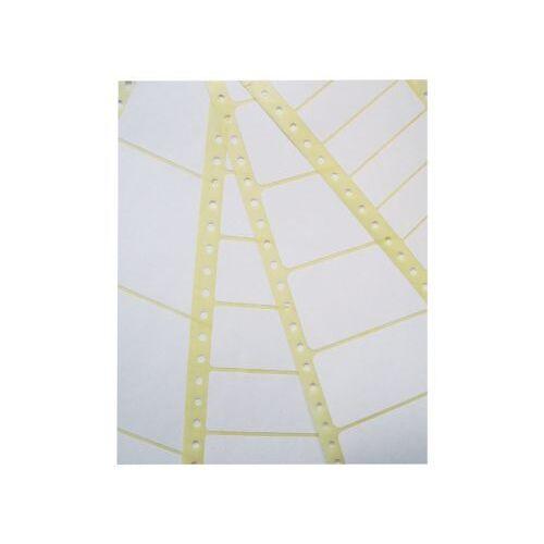 Zweckform Etiket Avery Zweckform T3014 102x36mm 1-baans Wit 4000stuks