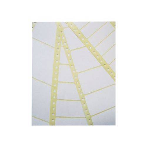 Zweckform Etiket Avery Zweckform T1814 89x36.1mm 1-baans Wit 4000stuks
