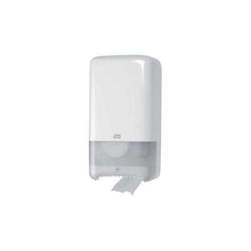 Tork Dispenser Tork T6 557500 Mid-size Toiletpapier Wit