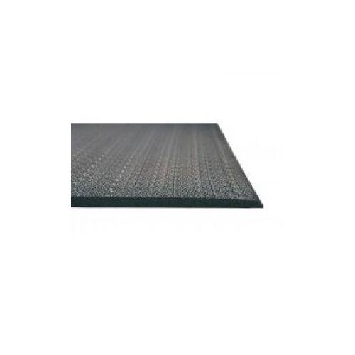 Discountoffice Werkplekmat Metergoed B 1200mm PVC Zwart