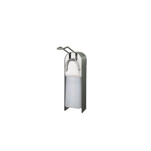 Discountoffice Zeep-/ontsmettingsmiddeldispenser HxB 325x97mm V. 1l RVS