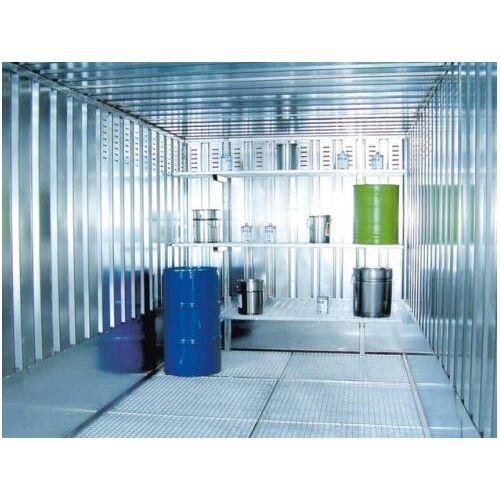 Discountoffice Roosterstelling V. Container Voor Gevaarlijke Stoffen BxD 800x500mm