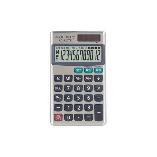 ACROPAQ AC120TE - Business Zakrekenmachine TAX Functie 12 Cijfers