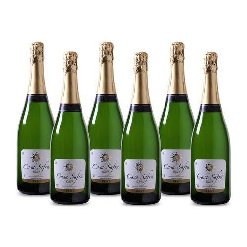 Discountoffice Casa Safra Cava Brut, Mousserende Wijn, Wit