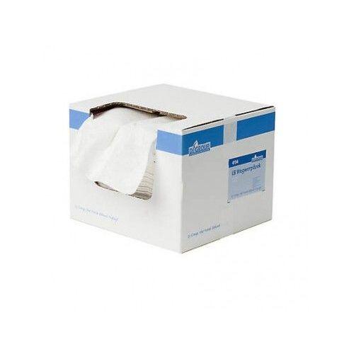 DiscountOffice Wegwerpdoeken In Dispenserdoos Lichtbont 34x37cm