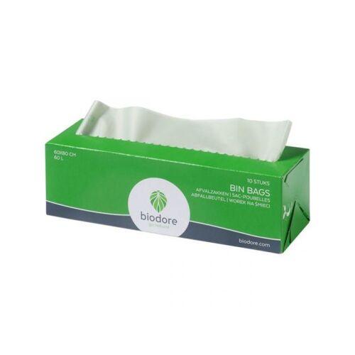 Biodore Afvalzakken Groen 60 Liter 10x24 Stuks