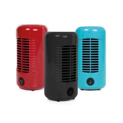 Perel Display Met 3 Ventilatoren - Ø 10 Cm X H 20 Cm - Rood - Zwart - Blauw