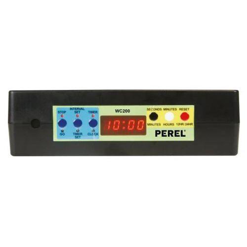 Perel Klok Met Chronometer/afteltimer & Intervaltimer