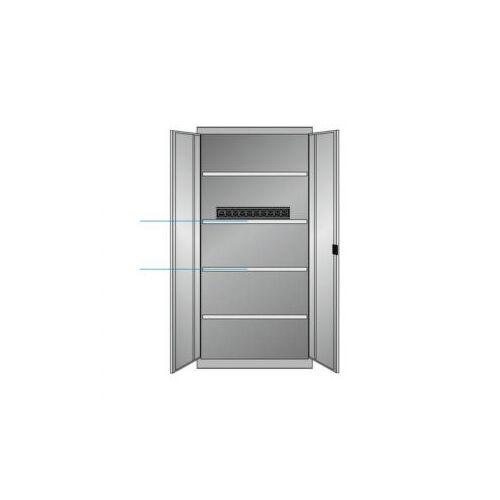 Discountoffice Elektrische Kast Met Openslaande Deuren HxBxD 1950x1000x580mm