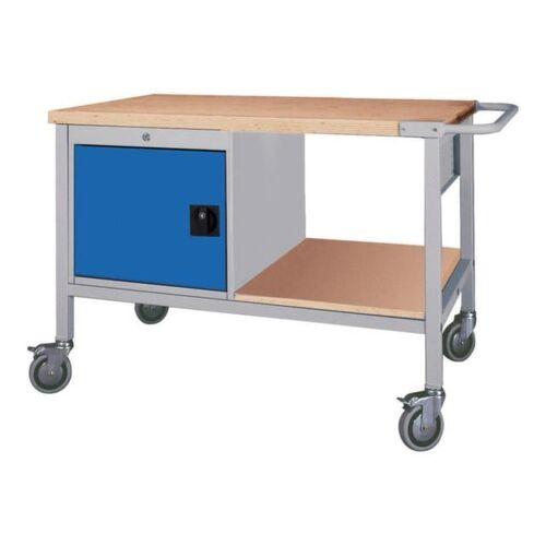 DiscountOffice Werkplaatswagen 859x1200x750mm Werkblad 40mm Draaideuren