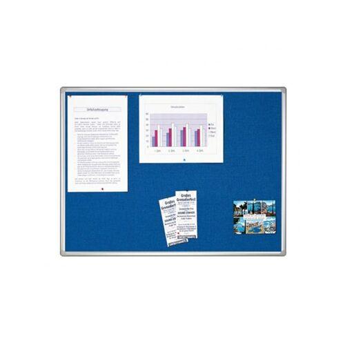 Franken Pro Line Textielbord 120x180cm Blauw