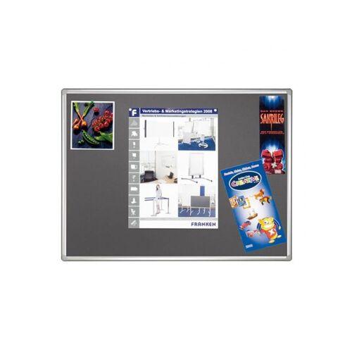 Franken Pro Line Textielbord 120x180cm Grijs