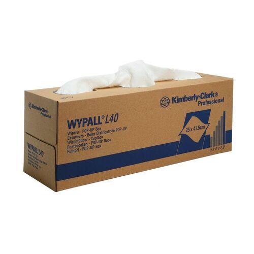 Wypall L40 7462 Poetsdoeken Wit 1-laags Pop-Up Doos
