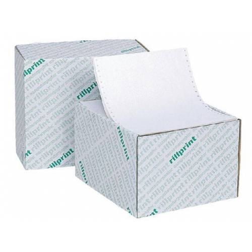 Rillprint Computerpapier 240x12 60 Gr Blanco Enkelvoud