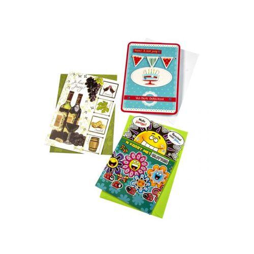 Paperclip Wenskaart Paperclip Navulset Verjaardag Set à 12 Kaarten