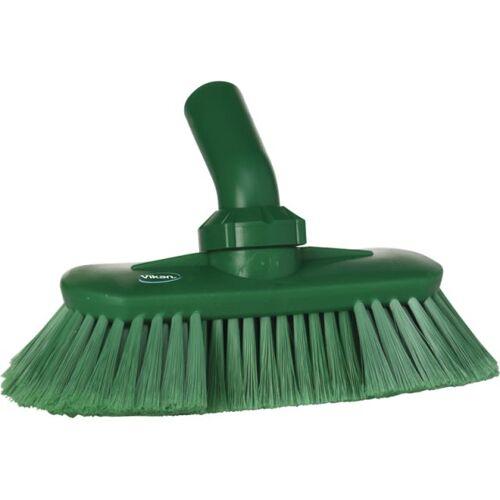 Vikan Hygiene 7067-2 Hoekverstelbare Borstel Watertoevoer Groen