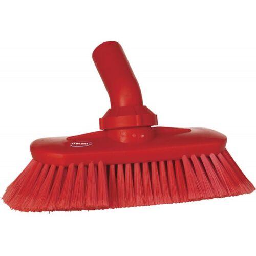 Vikan Hygiene 7067-4 Hoekverstelbare Borstel Watertoevoer Rood