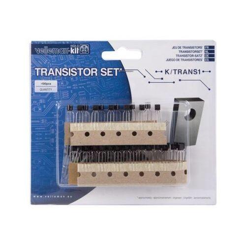 Perel Set Transistoren - 100 St. - 8 Waarden