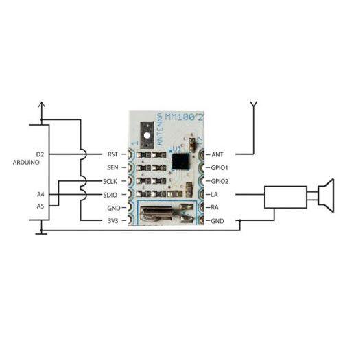 Velleman Modules Mini Fm/rds-Ontvangermodule