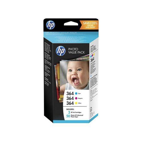HP T 9 D 88 Ee Hp Oj Tinte (3) Cmy+Papier