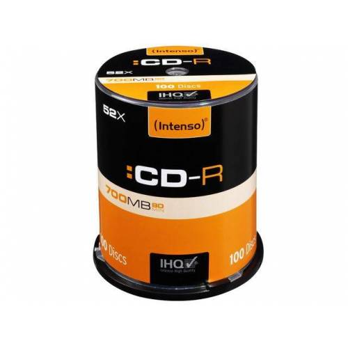 Intenso CDR80 700MB 52x (100) CB Spindel
