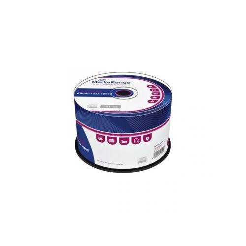 MediaRange CD-R MediaRange 700MB 80min 52x Speed, 50 Stuks