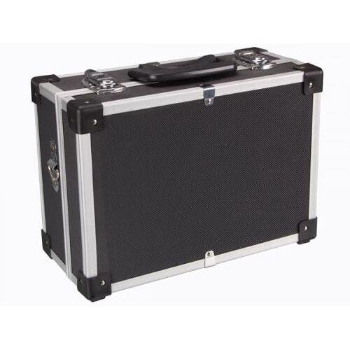Perel Aluminium Gereedschapskoffer - 320 X 230 X 155 Mm - Zwart