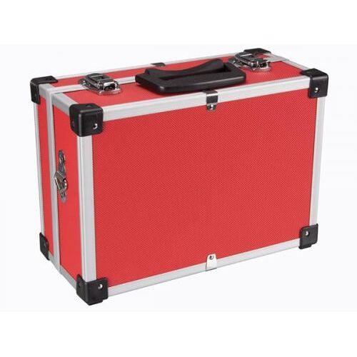 Perel Aluminium Gereedschapskoffer - 320 X 230 X 155 Mm - Rood