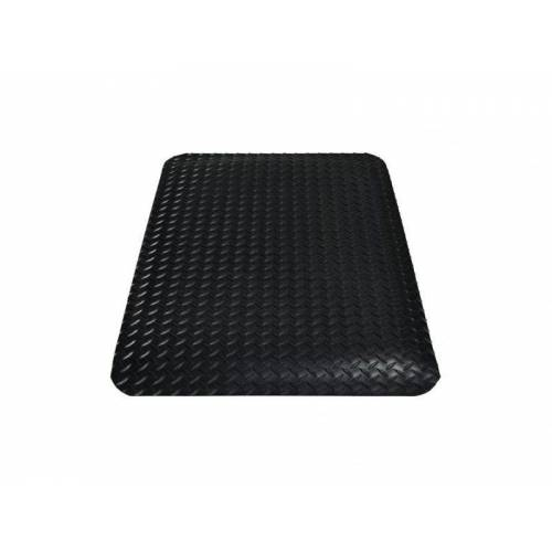 Discountoffice Werkplekmat LxB 900x600mm PVC Zwart