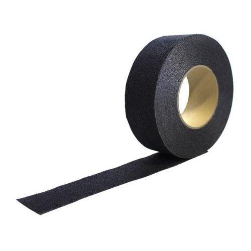 Discountoffice Tape Zwart Band LxB 18 3mx25mm Met Antislip-eigenschappen