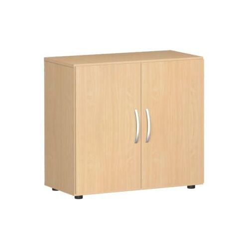 Discountoffice Kantoorkast Met Openslaande Deuren HxBxD 752x800x420mm 1xhouten Vloer