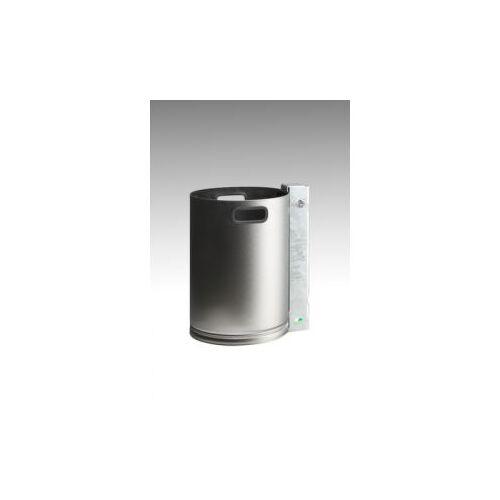 Discountoffice RVS Afvalbakken 30l HxØ 460x330mm Romp RVS