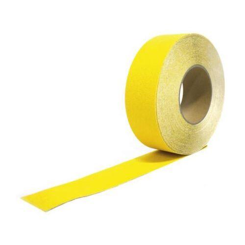Discountoffice Tape Geel Band LxB 18 3mx50mm Met Antislip-eigenschappen