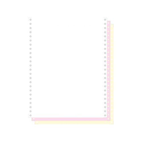 Exacompta Zelfkopiërend Listingpapier 240x12 Inch 3-voud Afscheurbare Caro