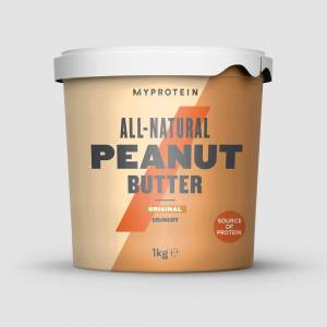 Myprotein Volledig natuurlijke pindakaas - 1kg - Original - Crunchy