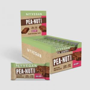 Myprotein Pea-Nut Square - 12 x 50g - Choc Berry