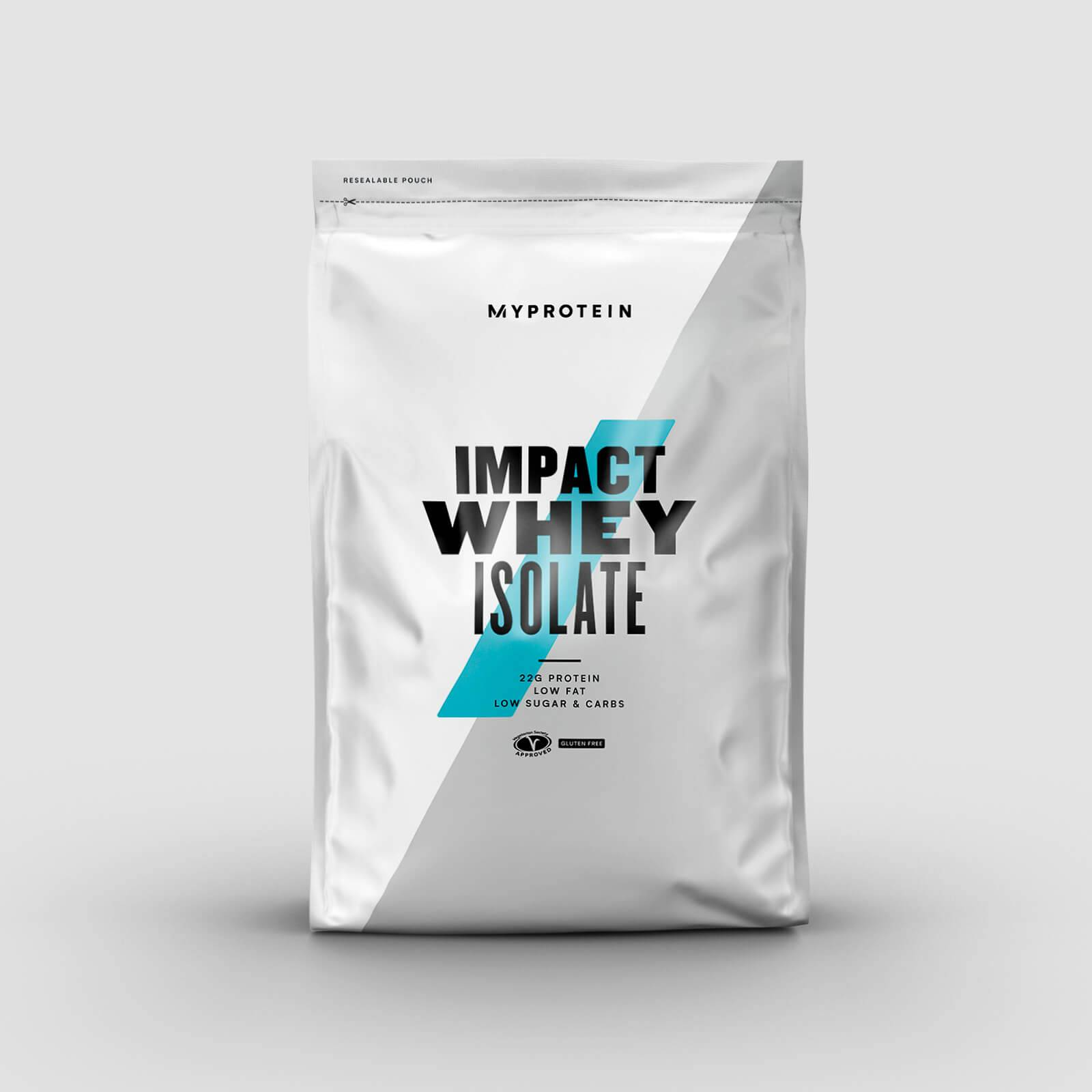Myprotein Impact Whey Isolate - 2.5kg - New - Natural Vanilla