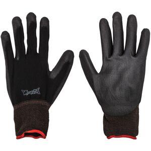 Montana nylon handschoenen, L zwart