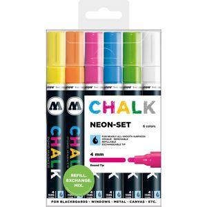 Molotow Chalk 4 mm Neon Set