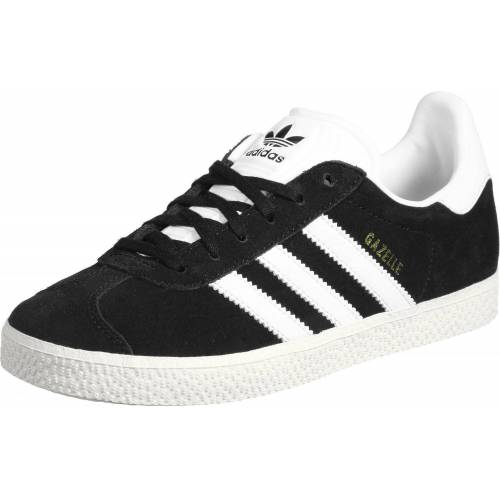 adidas Gazelle, 35.5 EU, Kinderen, zwart wit goud