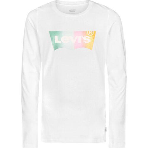 Levi's® Kids Levi's® long t-shirt voor kinderen, maat 140, Kinderen, wit