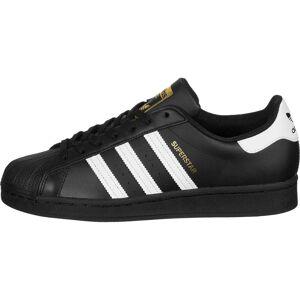 adidas Superstar, 45 1/3 EU, Heren, black/white