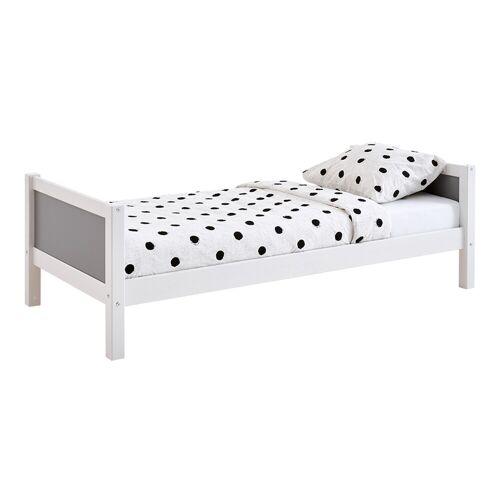 Flexworld Bed Jip 90x200  - wit/urban grey