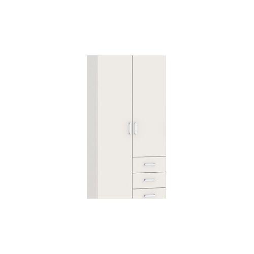 Beter Bed Basic Draaideurkast Compact  - wit