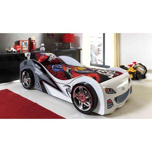Vipack Bed Brap Brap Raceauto 200x90  - wit