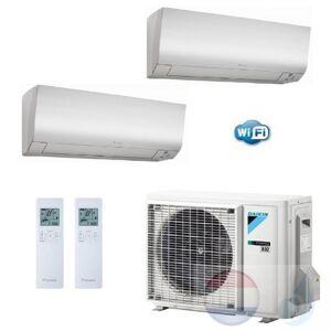 Daikin Duo Split 2.0+2.5 +4.0 kW Perfera FTXM-N Wit Air Conditioner WiFi R-32 FTXM20N +FTXM25N +2MXM40M A+++/A++ 7+9 Btu
