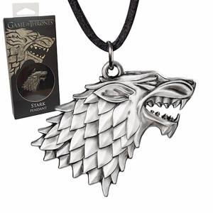 Noble Collection Game of Thrones Stark Sigil Replica halsketting