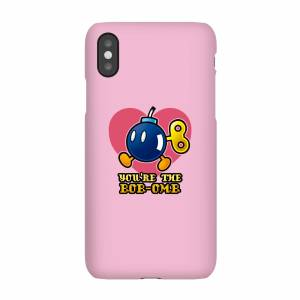 Nintendo You're The Bob-Omb Telefoonhoesje - iPhone X - Snap case - glossy